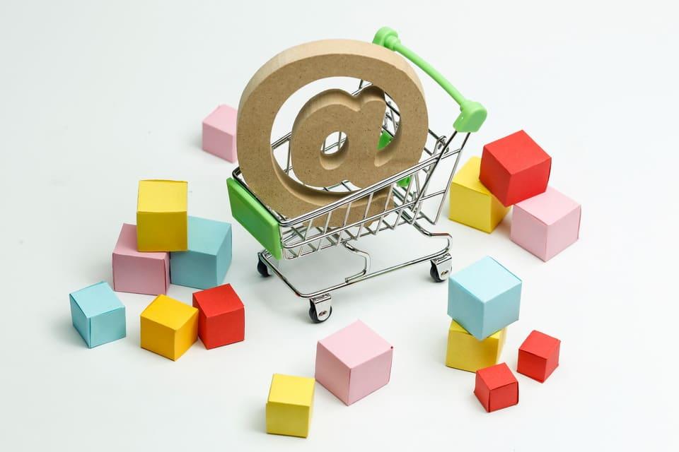 Christmas e-commerce shopping