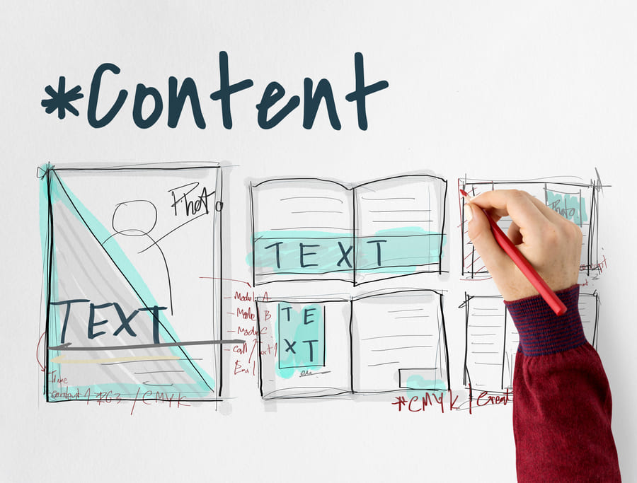 web content plan