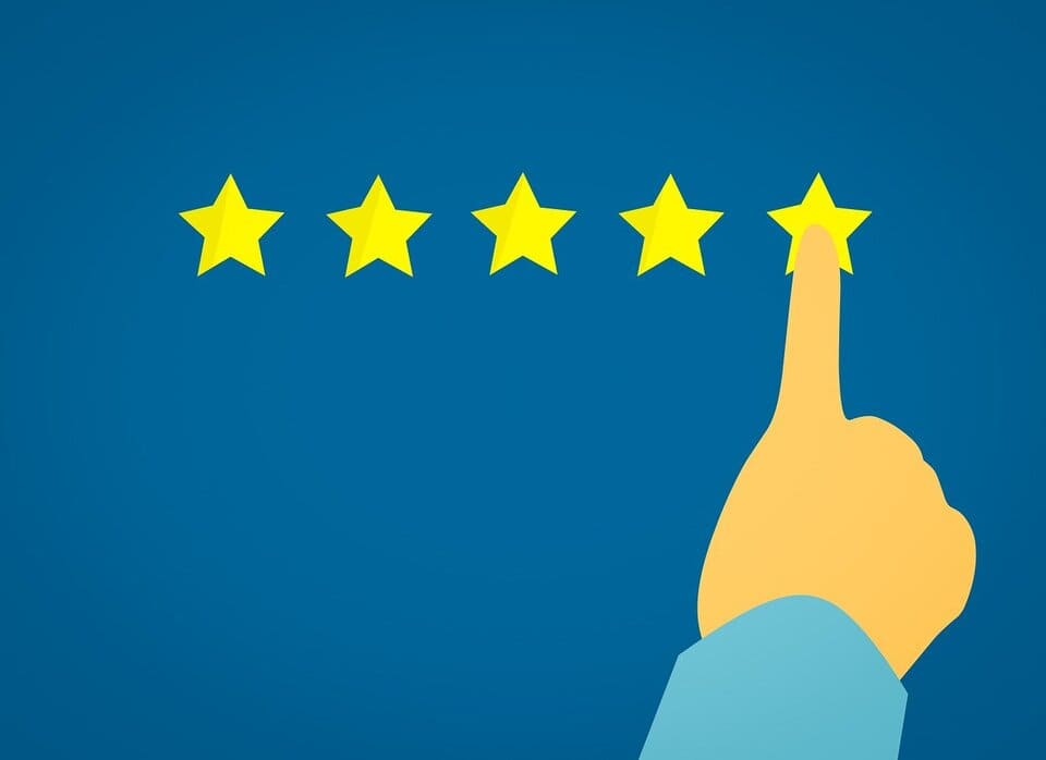 customer experience 5 stars